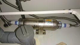 超貴重アンダーシンクタイプの浄水器