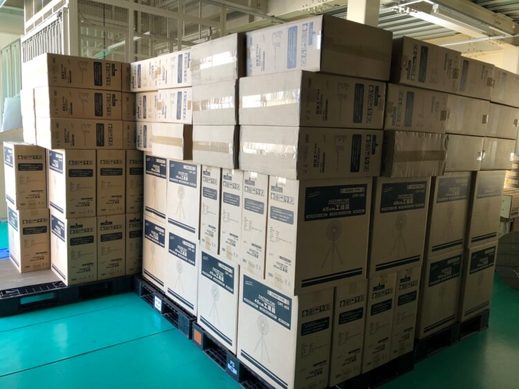 松戸市内の施設に工業扇風機を1日も早くお届けしたい!