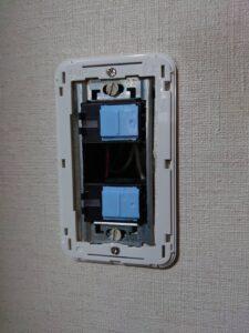 電気スイッチの交換