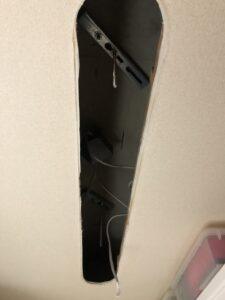 天井埋込型照明器具をLED天井埋込型照明器具に交換